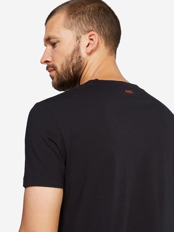 HUGO T-Shirt mit Print 'Dariano'
