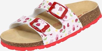 Sandalai iš SUPERFIT , spalva - rožių spalva / raudona / balta, Prekių apžvalga