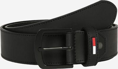 Tommy Jeans Ledergürtel 'TJM RUBBER  INLAY ADJ BELT 4.0' in schwarz, Produktansicht