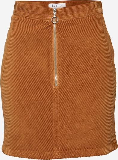 LeGer by Lena Gercke Rok 'Lea' in de kleur Cognac, Productweergave