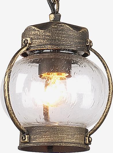 FAVOURITE Leuchte 'Faro' in braun / gold, Produktansicht