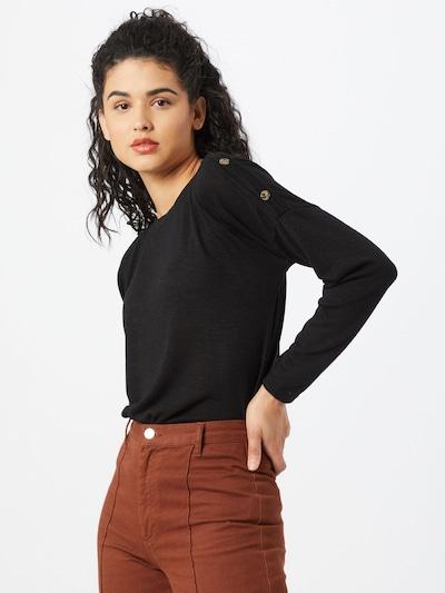 PIECES Sweter w kolorze czarnym, Podgląd na modelu(-ce)