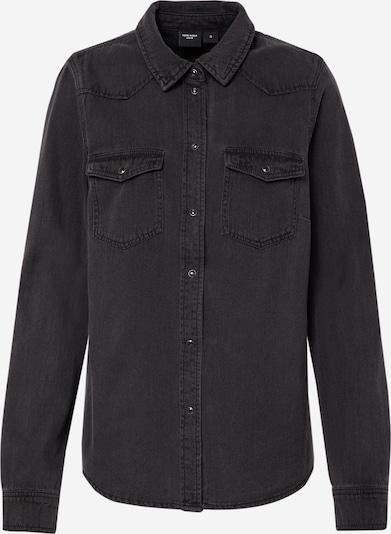 VERO MODA Jeansbluse 'VMMARIA' in schwarz / black denim, Produktansicht