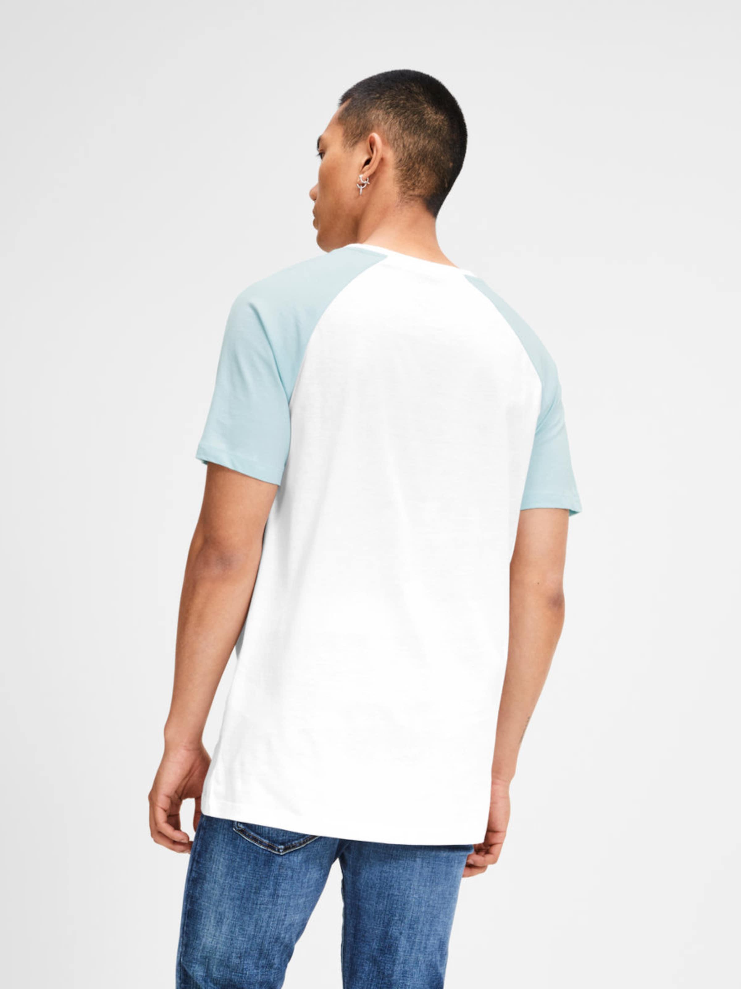 En T shirt Jones ClairBlanc Jackamp; Bleu uJ3TlK1Fc