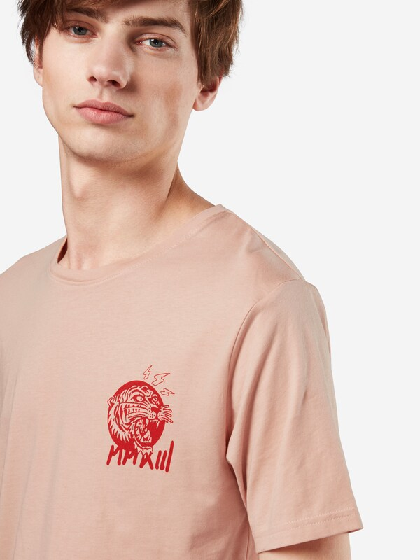 Only & Sons T-Shirt 'FIRE RED CHEST SS TEE EXP'
