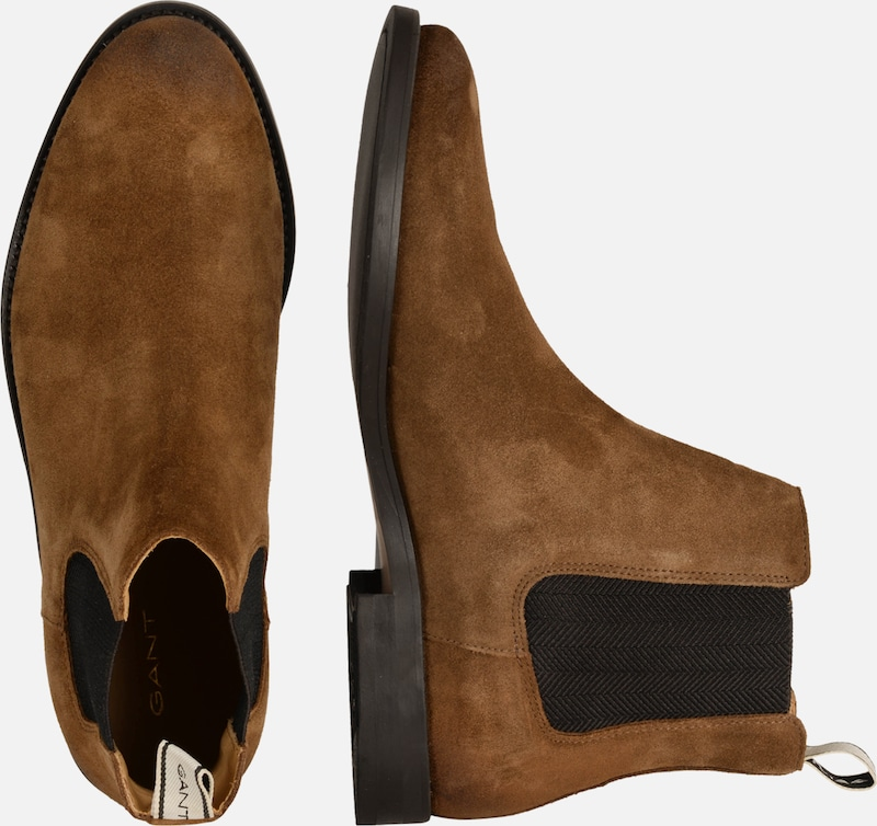 Gant 'max' Chelsea MarronNoir Boots En HE9WD2I