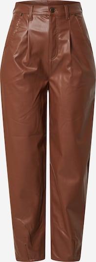 teveszín NA-KD Élére vasalt nadrágok, Termék nézet