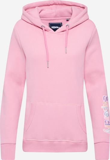 Superdry Sweatshirt 'EMB SLEEVE' in rosa, Produktansicht