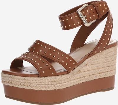 GUESS Remienkové sandále 'Latanye' - koňaková, Produkt