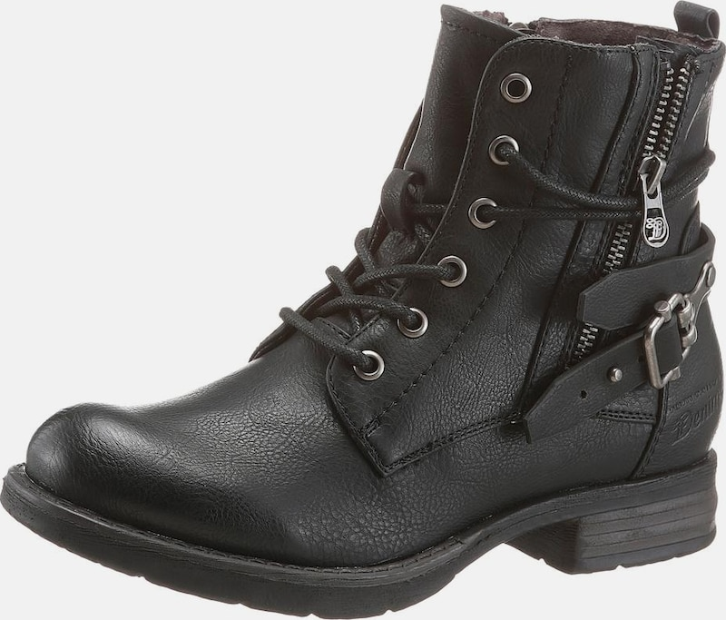 Lacets Tailor Noir À En Bottines Tom lJcF1K