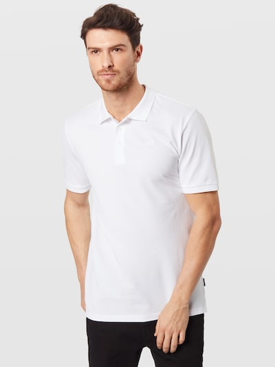 Tricou 'onsSCOTT PIQUE POLO NOOS' Only & Sons pe alb: Privire frontală