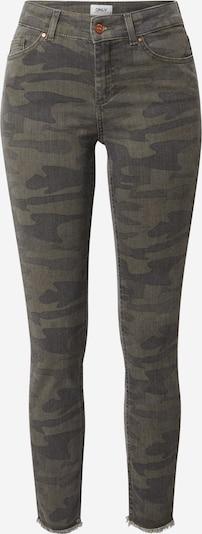 ONLY Jeans in khaki / dunkelgrün: Frontalansicht