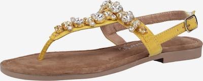MARCO TOZZI Sandalen in gelb, Produktansicht