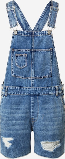 ONLY Latzjeans 'LAYLA' in blue denim: Frontalansicht