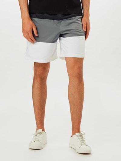 Nike Sportswear Kalhoty 'City Edition' - šedá / černá / bílá, Model/ka