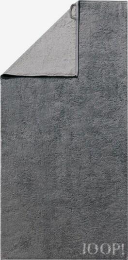 JOOP! Handtuch 'Doubleface' in grau / dunkelgrau, Produktansicht