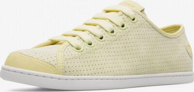 CAMPER Sneaker ' Uno ' in pastellgelb, Produktansicht