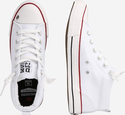 Dockers by Gerli Sneakers '38AY603' in weiß: Seitenansicht