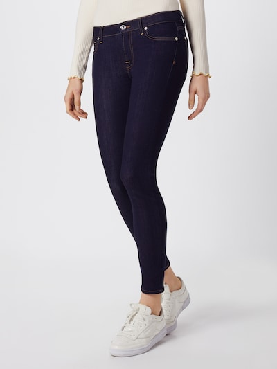 7 for all mankind Jeans 'The Skinny Crop' in blau, Modelansicht