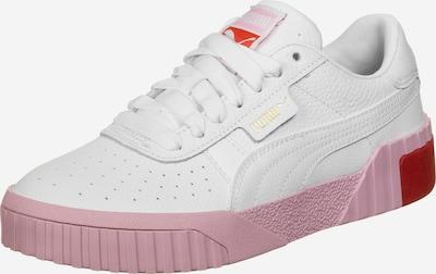 PUMA Sneaker 'Cali' in rosa / rot / weiß: Frontalansicht