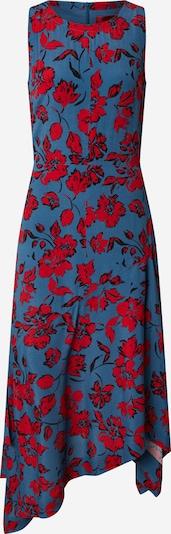 HUGO Jurk 'Kilami' in de kleur Nachtblauw / Rood, Productweergave