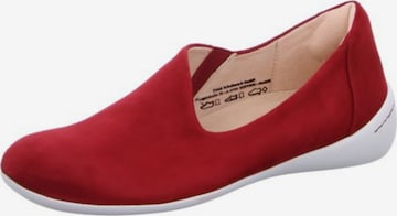 THINK! Slip-Ons in Red