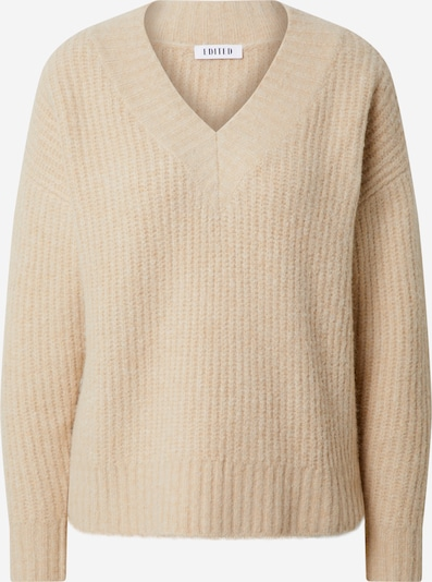 EDITED Pullover 'Claire' in camel, Produktansicht