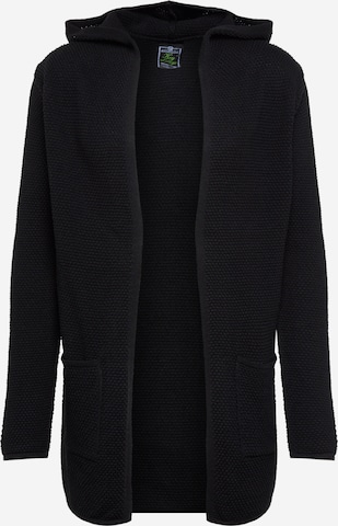 Key Largo Πλεκτή ζακέτα 'MST TRANSFORMER jacket' σε μαύρο