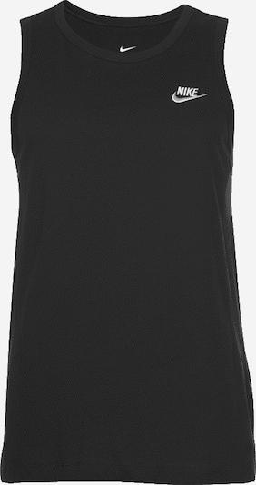 fekete Nike Sportswear Póló 'Club', Termék nézet