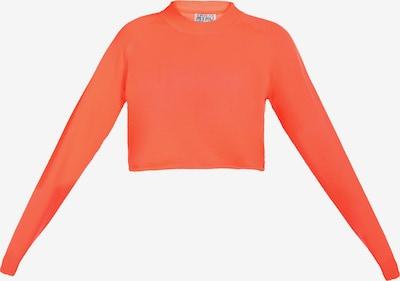 myMo ATHLSR Pull-over de sport en orange fluo, Vue avec produit