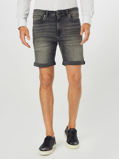 Jeans SELECTED HOMME pe gri metalic, Vizualizare model