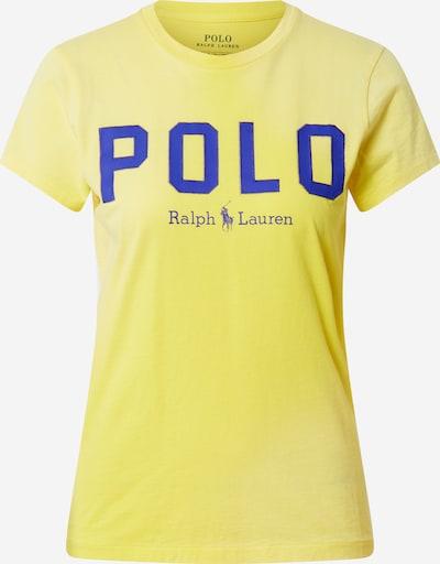 POLO RALPH LAUREN T-shirt en bleu foncé / jaune, Vue avec produit