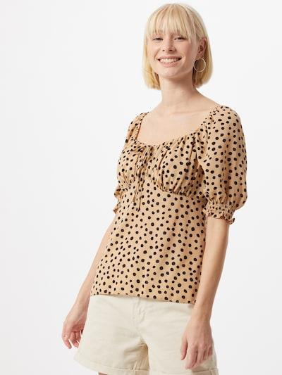 NEW LOOK Bluse 'DEXTER DAISY' in beige / braun, Modelansicht