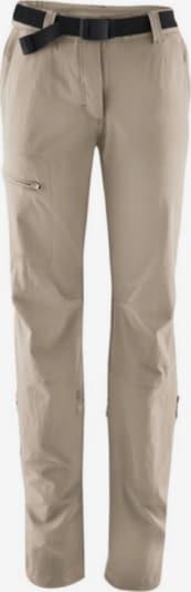 Maier Sports Hose 'Lulaka' in beige, Produktansicht
