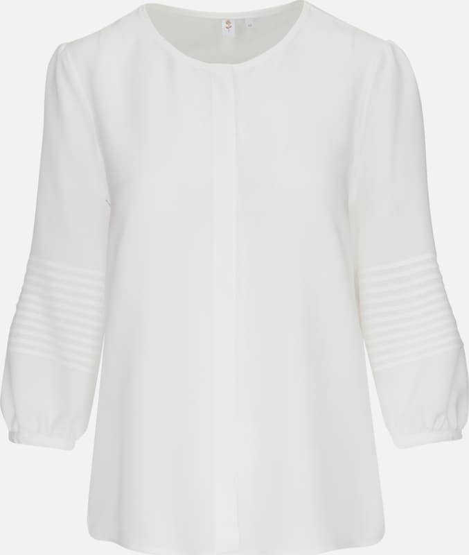 SEIDENSTICKER ShirtBlause 'Schwarze Rosa' in weiß  Markenkleidung für Männer und Frauen
