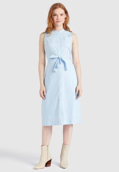 khujo Kleid 'Threres' in blau, Modelansicht