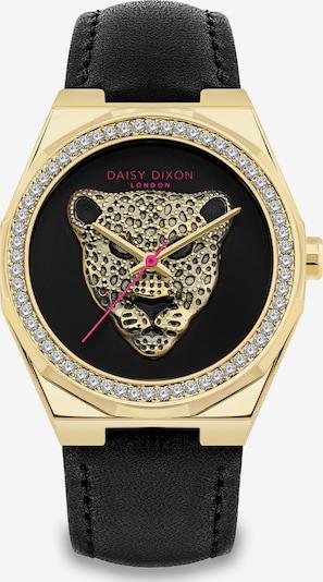 DAISY DIXON Uhr in gold / schwarz / transparent, Produktansicht