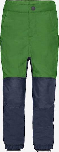 VAUDE Outdoorhose 'CAPREA III' in blau / grün, Produktansicht