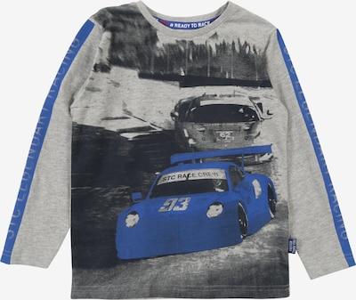 STACCATO Sweatshirt in blau / graumeliert / schwarz, Produktansicht