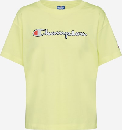 Champion Authentic Athletic Apparel Majica 'Crewneck T-Shirt' | rumena barva, Prikaz izdelka