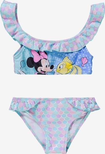 DISNEY Bikini 'Minnie Mouse' in türkis / lila, Produktansicht
