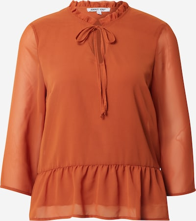 ABOUT YOU Bluse 'Clara' in orange / rostrot, Produktansicht