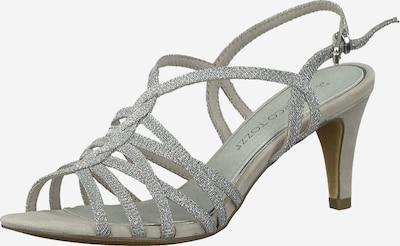 MARCO TOZZI Sandalette in hellgrau, Produktansicht
