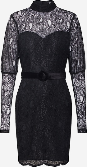 Fashion Union Večerna obleka 'MARGERINE' | črna barva, Prikaz izdelka