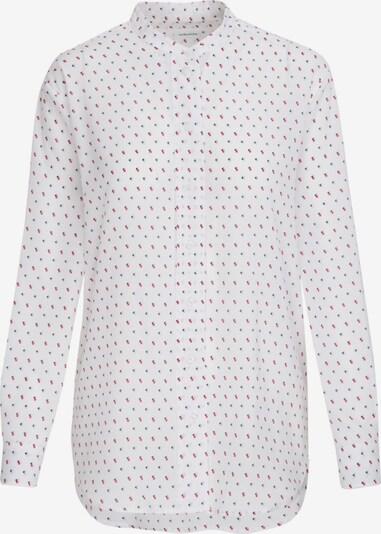 SEIDENSTICKER Bluse in nachtblau / rot / weiß, Produktansicht