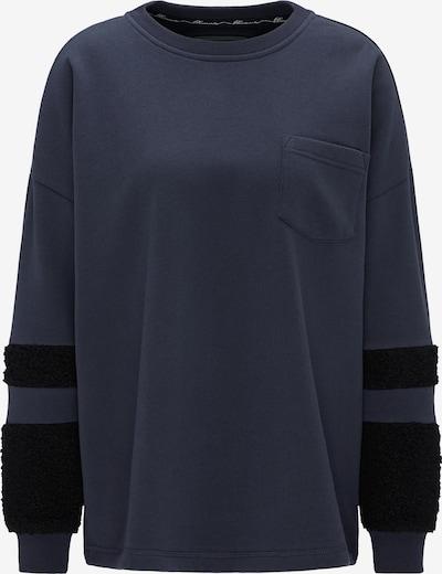 DREIMASTER Sweatshirt in marine / nachtblau, Produktansicht