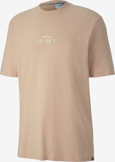 PUMA Shirt in sand, Produktansicht