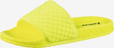 Kamoa Badelatschen 'NELE' in gelb, Produktansicht