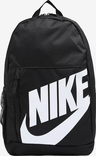 Rucsac Nike Sportswear pe negru / alb, Vizualizare produs