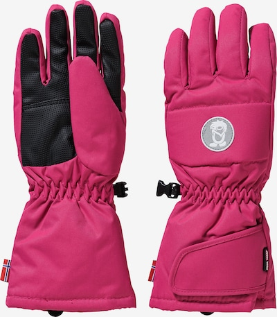 TROLLKIDS Skihandschuhe NARVIK in pink / schwarz, Produktansicht